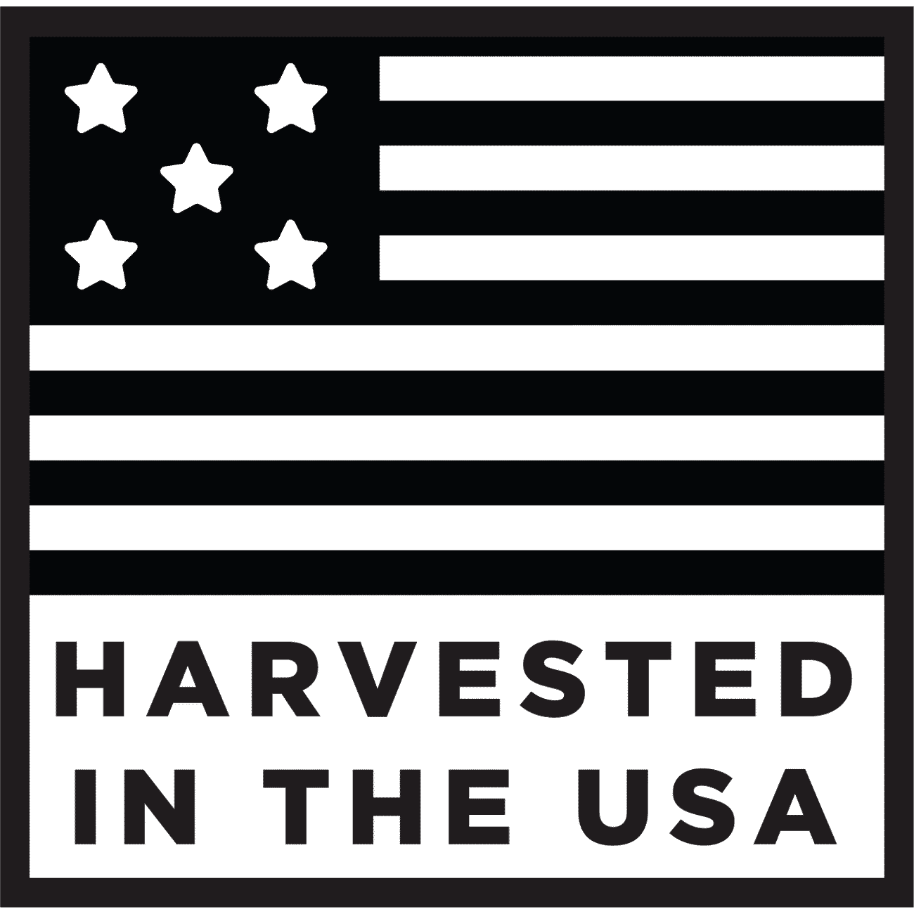 Harvested in the USA
